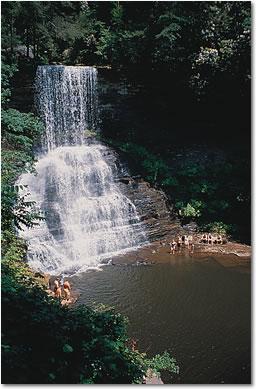Cascade Waterfall near Pembroke, Virginia Photo