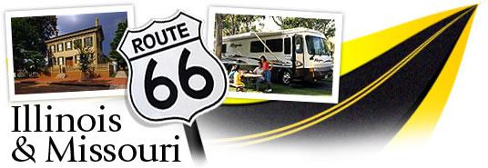 Follow Route 66 Through Illinois and MIssouri