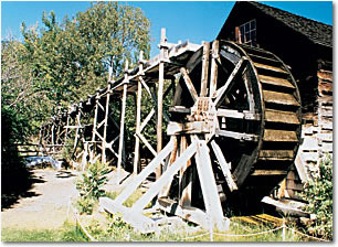 Grist Mill and Gardens, Keremeos, British Columbia