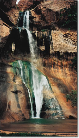 Lower Calf Creek Falls Photo, Grand Staircase-Escalante National Monument