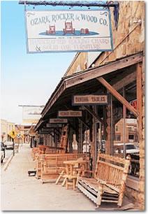 Mountain View Arkansas Street Scene