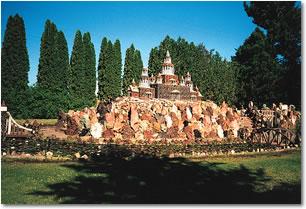 Petersen Rock Gardens near Redmond, Oregon Photo