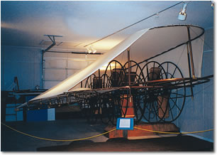 Photo of Reverend Cannon's Airship, Cotton Belt Depot Museum