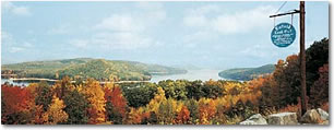 Quabbin Reservoir in Massachusetts Photo