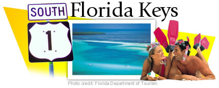 US Route 1 Through the Florida Keys Graphic