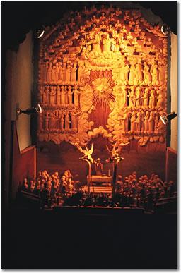 Santuario de San Martin Church Carvings Photo