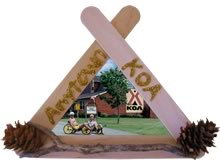 Popsicle Stick Picture Frame Project