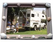 Campground Picture Frame Craft Project